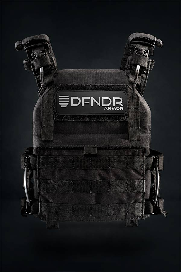 DFNDR Body Armor Hero Shot by Chase Wilson 2018