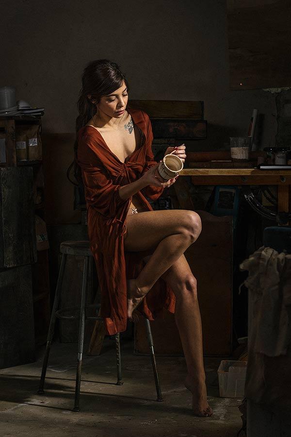 Lisa Elizabeth shot by Chase Wilson for the `Dutch Studies` set